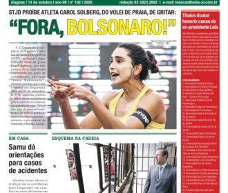 """FORA, BOLSONARO!"""
