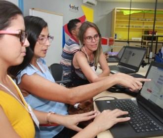 Seduc promove formação em recursos tecnológicos para mais de 1.400 professores