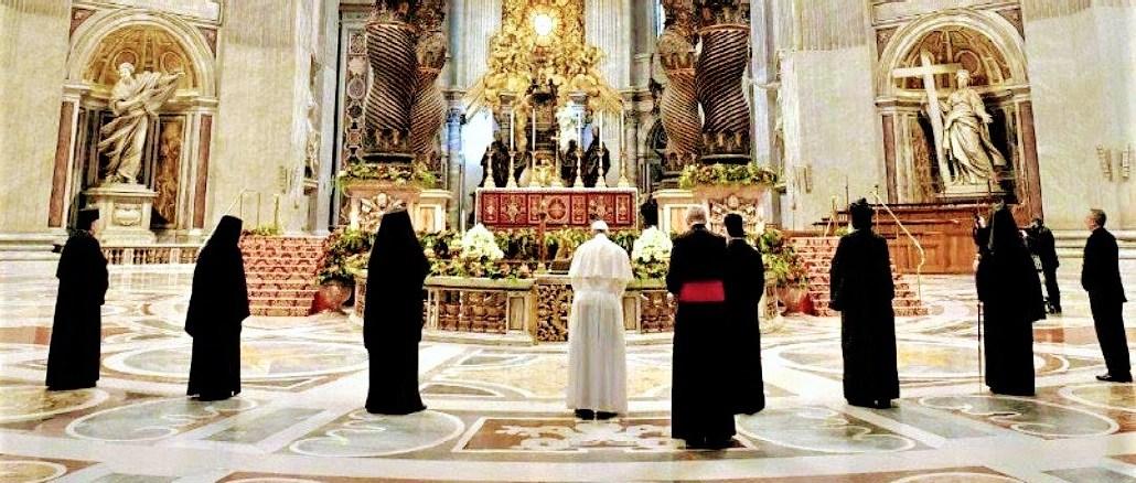 Påven ber för Libanon