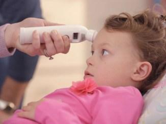 Criança infetada