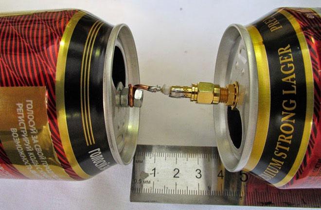 priključite vanjsku antenu