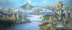 Advanced spiritualist city