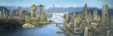 Tau-inspired city