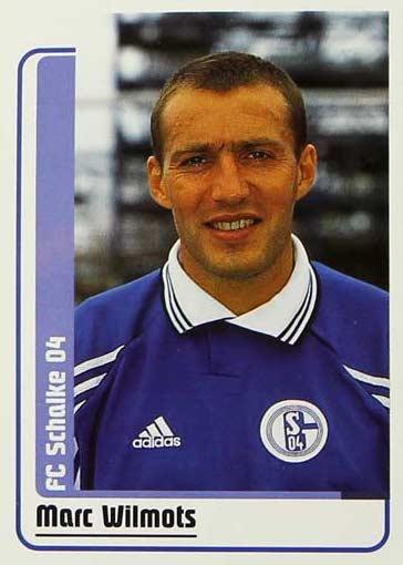 Por Gelsenkirchen echan de menos a futbolistas de la talla de Marc Robert Wilmots, el belga lo daba todo y se echaba al equipo a la espalda.