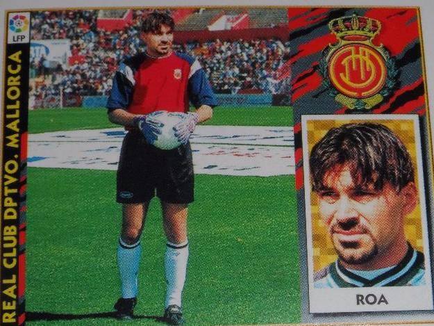 Carlos Ángel Roa. Excelente portero. De los mejores que defendieron el marco en el Lluis Sitjar.