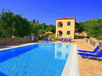 Apartment In Kassiopi With Swimming Pool Bbq And Private Parking