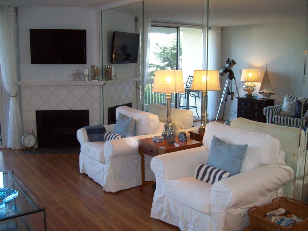 Beach Condo, Casual Cottage Style, Ocean Front Complex