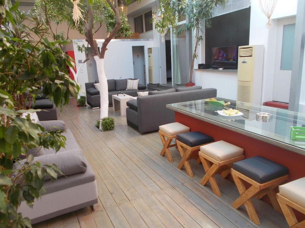 Interior garden house  Interior garden house  spacious apartment in     Athens house rental