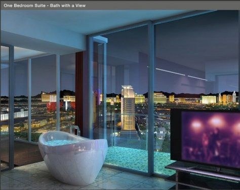 palms place hotel-stunning modern giant sui - vrbo