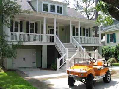 Your Hummer Golf Cart Is Free To Use A   Value No Charge Comes With House