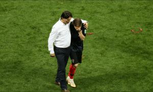 Luka Modric crying