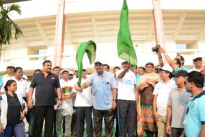 tourism minister Ashok Chandra Panda flags off heritage walk for world tourism day