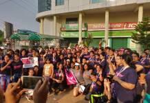All participants Pinkathon Women health awareness run in Bhubaneswar 6