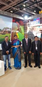 Odisha Tourism Representatives at WTM, London