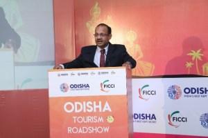 Tourism Minister of Odisha Shri. J.P. Panigrahi