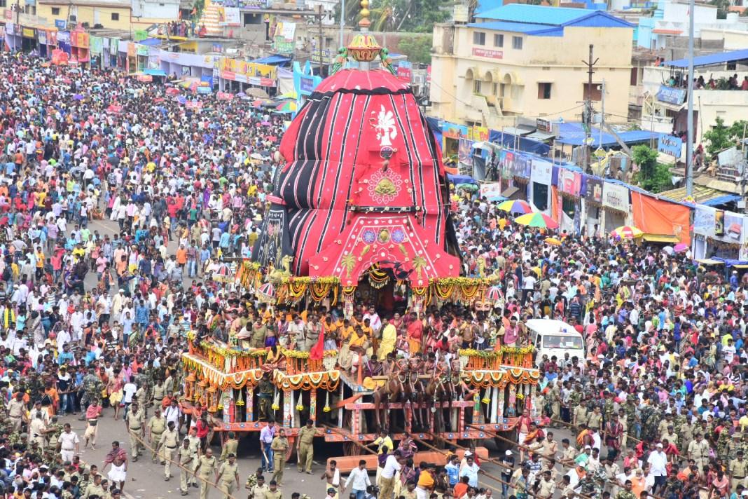 Bahuda Yatra of Lord Jagannath - Rath Yatra - 2019