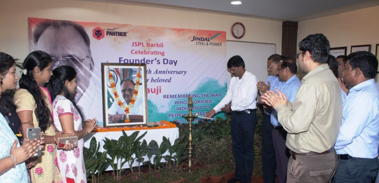 JSPL observes O.P Jindal's 89th Birth Anniversary