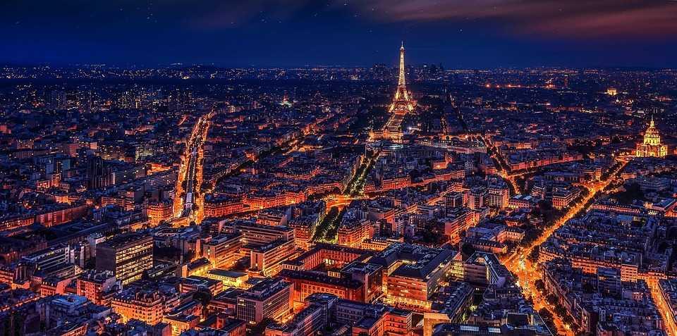 """The City of Lights"" Paris Tourism"