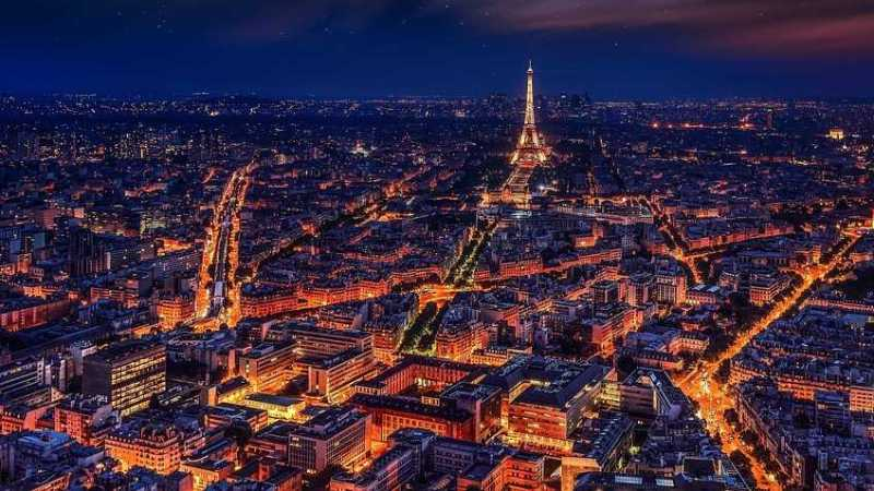 """The City of Lights"" Paris Tourism"