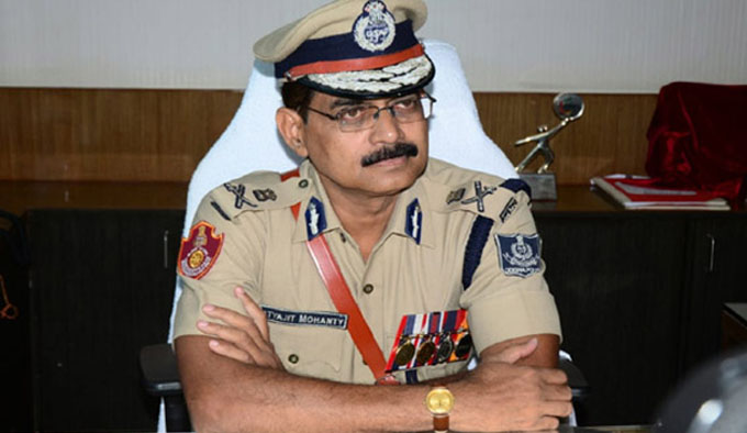 satyjit mohanty took charge of police commissioner
