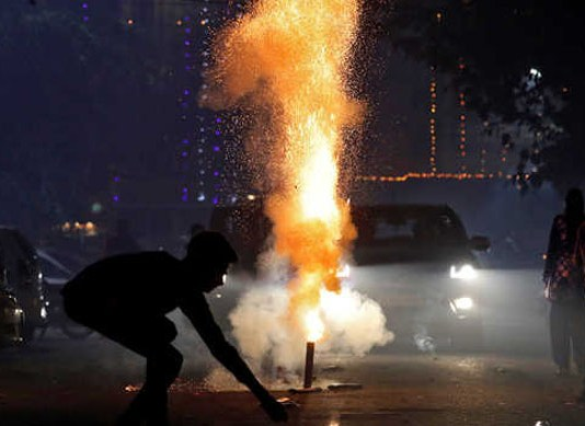 action against 370 persons for violating sc order on bursting of crackers