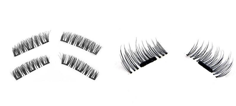 Types of magnetic eyelashes