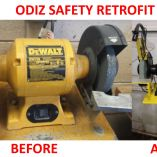 Retrofit before after dewalt