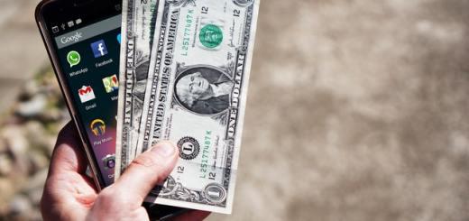 przesyłka pieniędzy mobilnie
