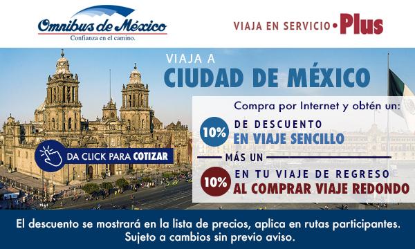 boletos de autobus a ciudad de mexico