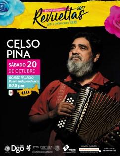 Poster Celso Piña