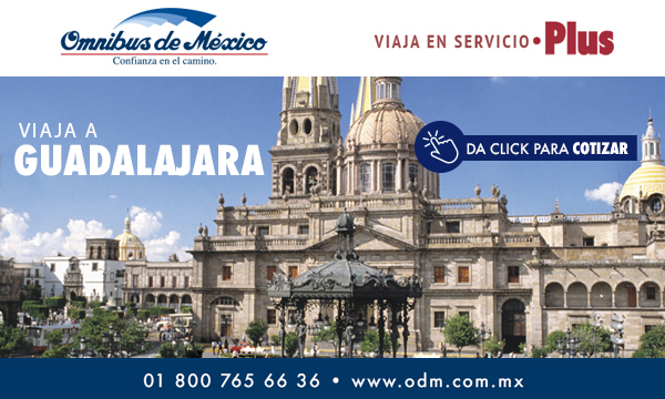 Boletos de Autobus a Guadalajara Omnibus de México