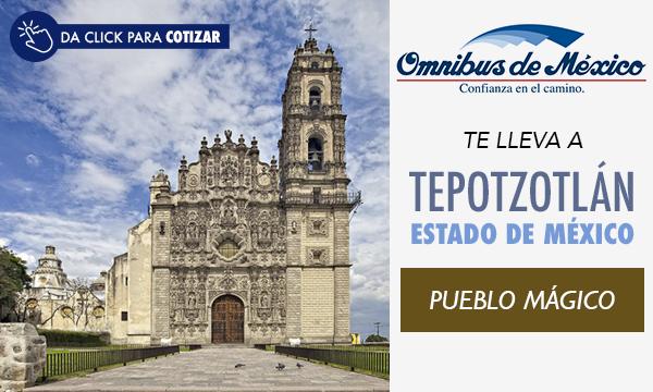boletos de autobus a Tepotzotlán con Omnibus de México