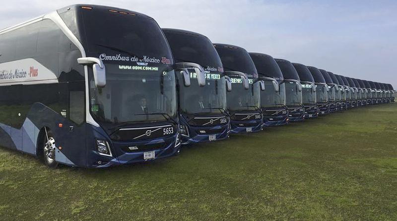 nuevos autobuses doble piso omnibus de méxico