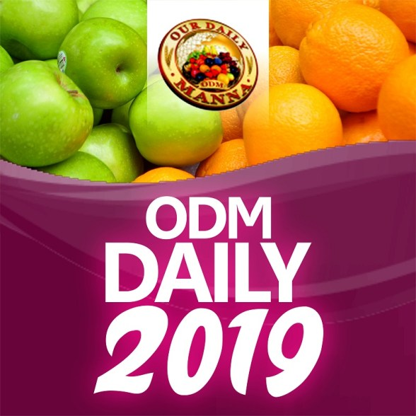 Our Daily Manna ODM 24 March 2019