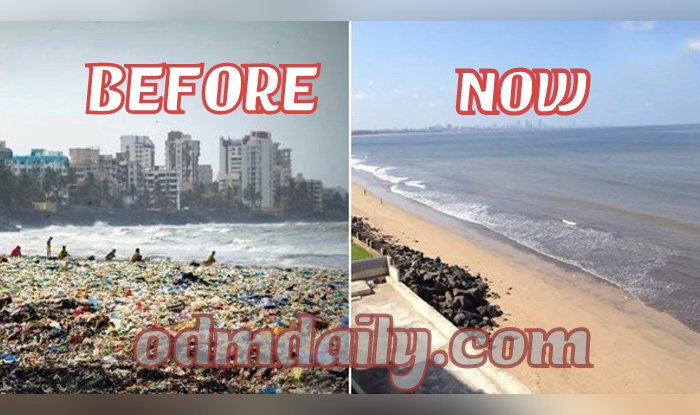 Versova Beach Before and Now