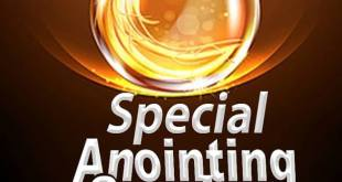 SPECIAL ANOINTING SERVICE (SECRET OF LOCATING YOUR DESTINY HELPER)