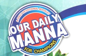 Our Daily Manna 16 September 2019