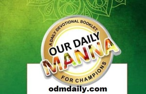 ODM Devotional 9 March 2020