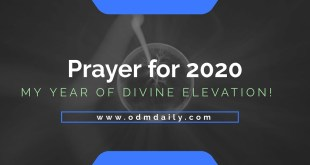 prayer for 2020 elevations