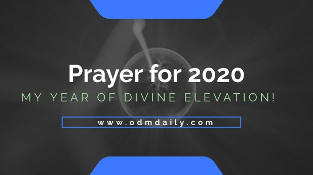 prayer for 2020 elevations