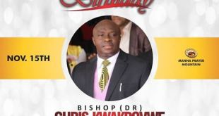 Happy Birthday Bishop Dr Chris