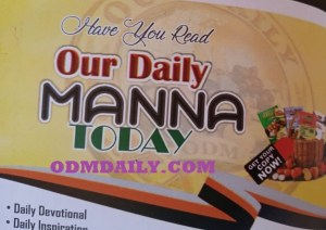 Our Daily Manna 3rd May 2021 Manna Worldwide By Dr Chris
