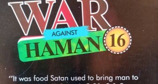 WAR AGAINST HAMAN 16