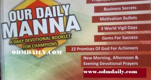 Our Daily Manna ODM 2nd July 2021