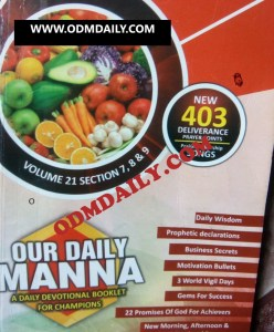 ODM Daily Devotional 14th September 2021