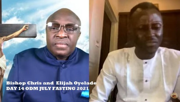 Bishop Chris and Elijah Oyelade