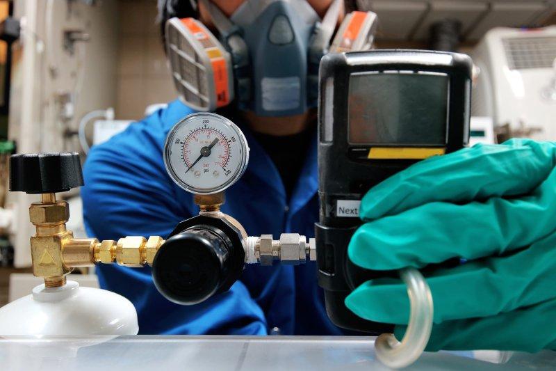 gas pressure testing