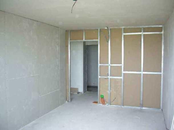 легкие стены из гипсокартона