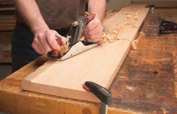 фугование древесины