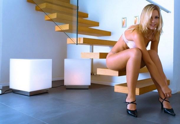 лестницы в деревянном доме